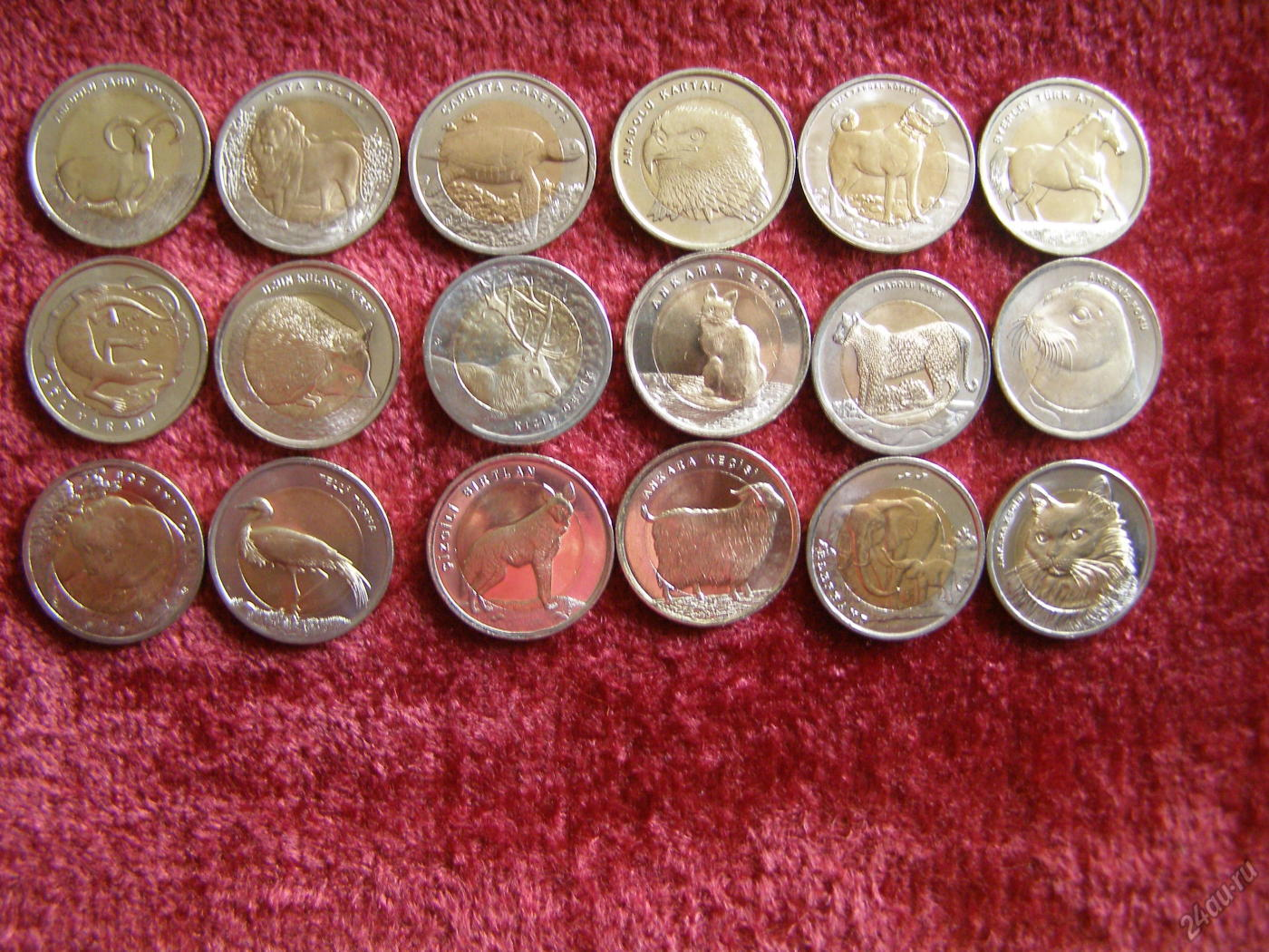 Монеты фауна Турции http://grosh-blog