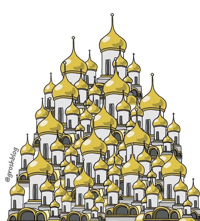 Сколько храмов строится в России