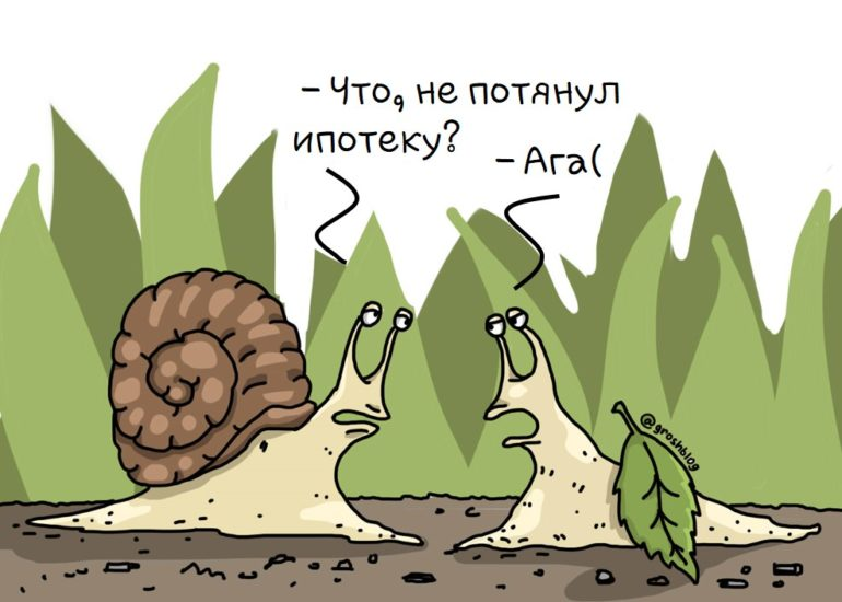 ипотека карикатура https://grosh-blog.ru